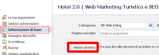nome-utente-pagina-facebook