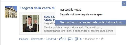 nascondere-post-facebook