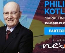 15 Maggio a Milano: appuntamento con Philip Kotler