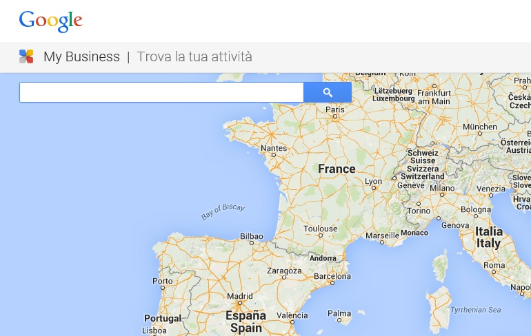 trova struttura su google my business