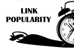 fattore tempo link popularity