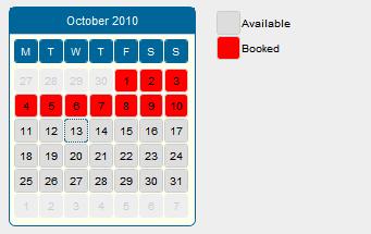 Calendario Per Sito Web.Checklist Del Sito Web Il Software Di Booking Online