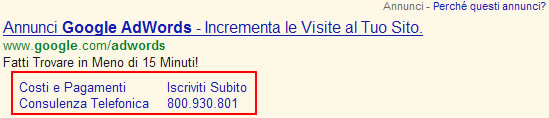 google-sitelinks