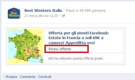 best-western-facebook-offers