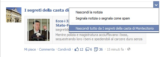 nascondere-post-facebook