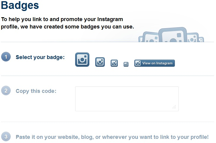 instagram-badges